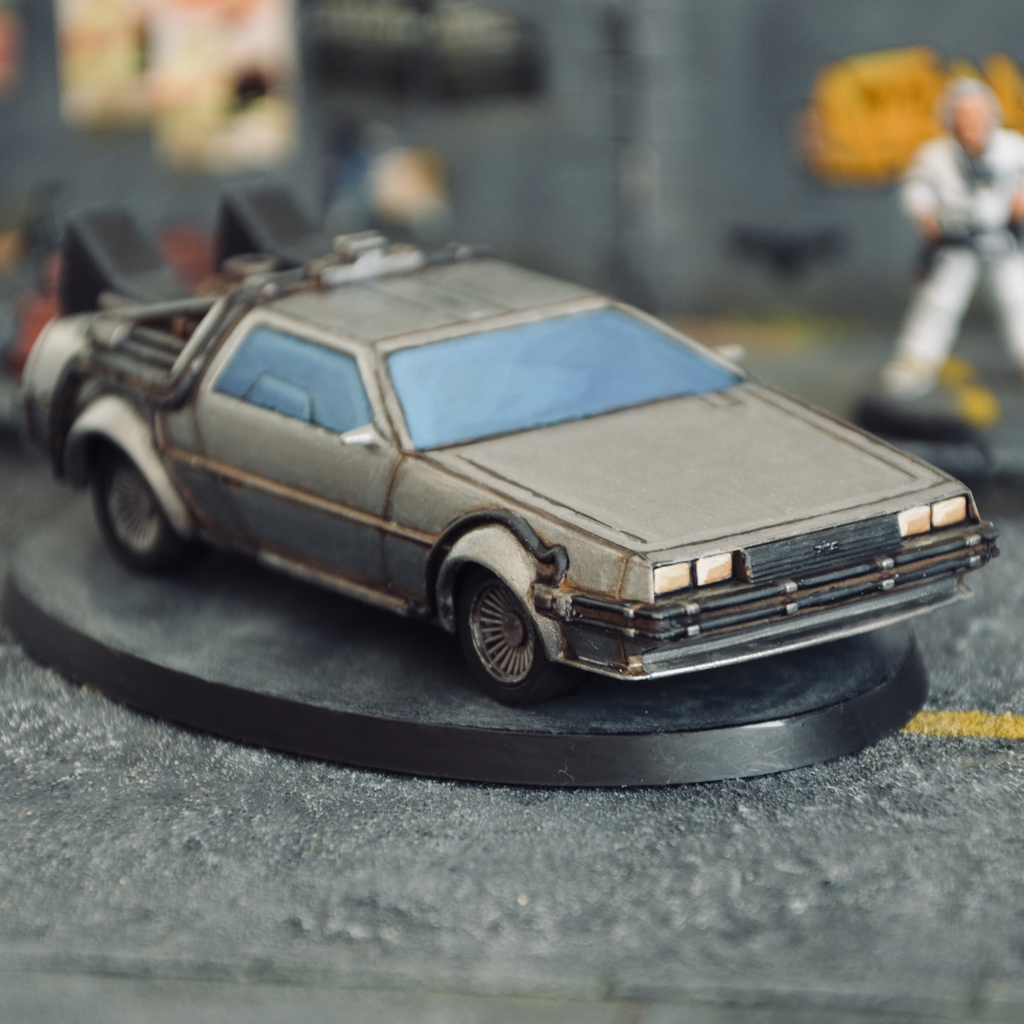 """""""Wait a minute Doc, uh, are you telling me you built a time machine… out of a DeLorean?"""""""
