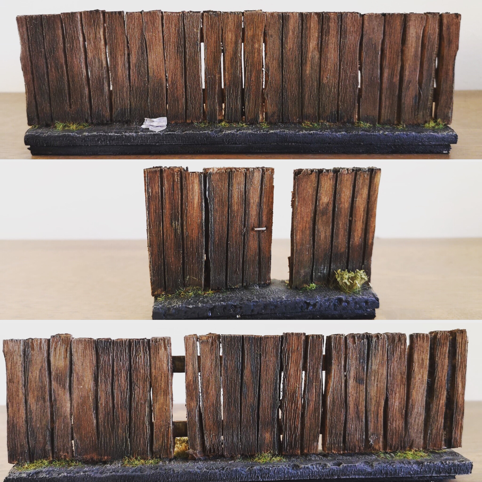 New terrain: Pailing fence