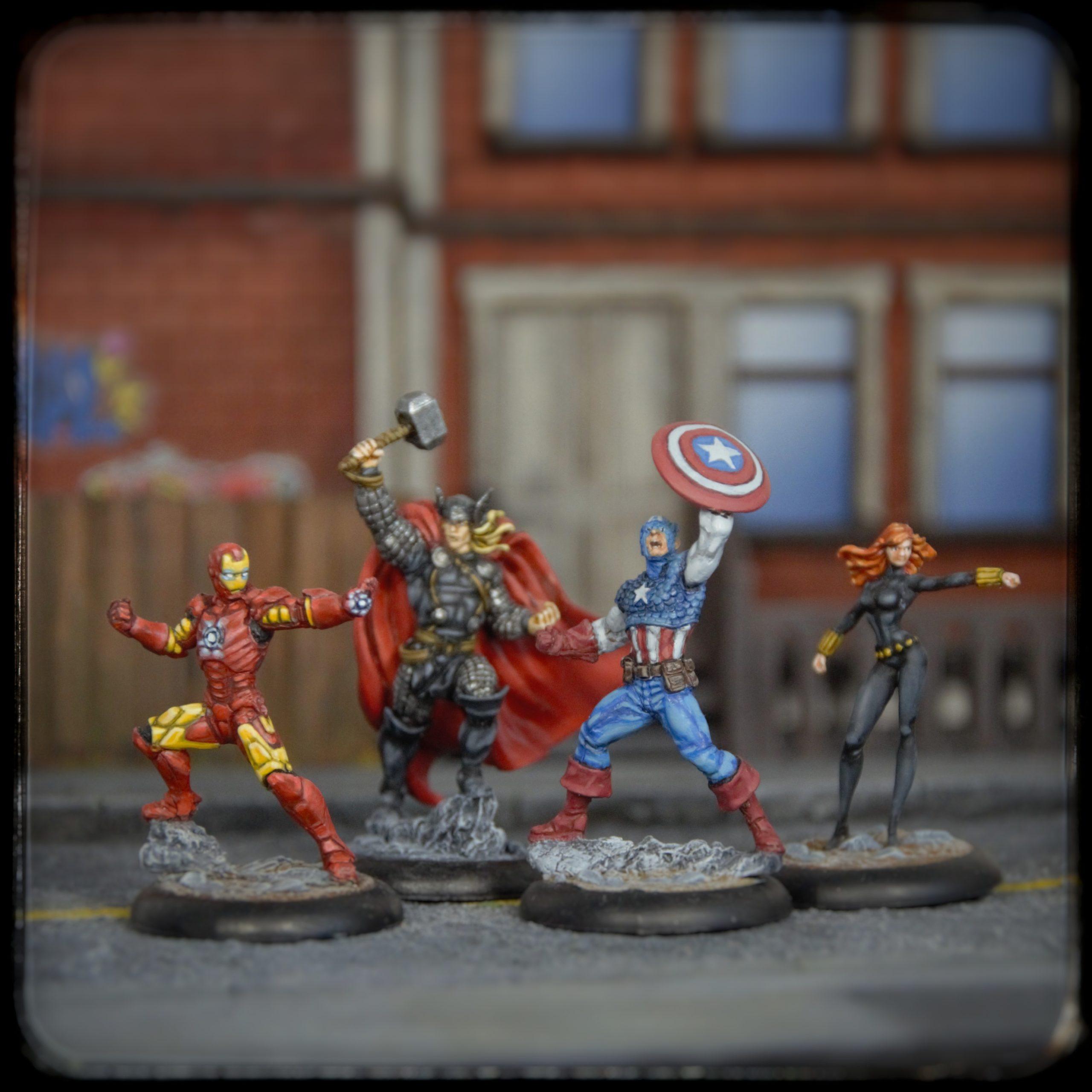 Marvel Avengers Knight Models