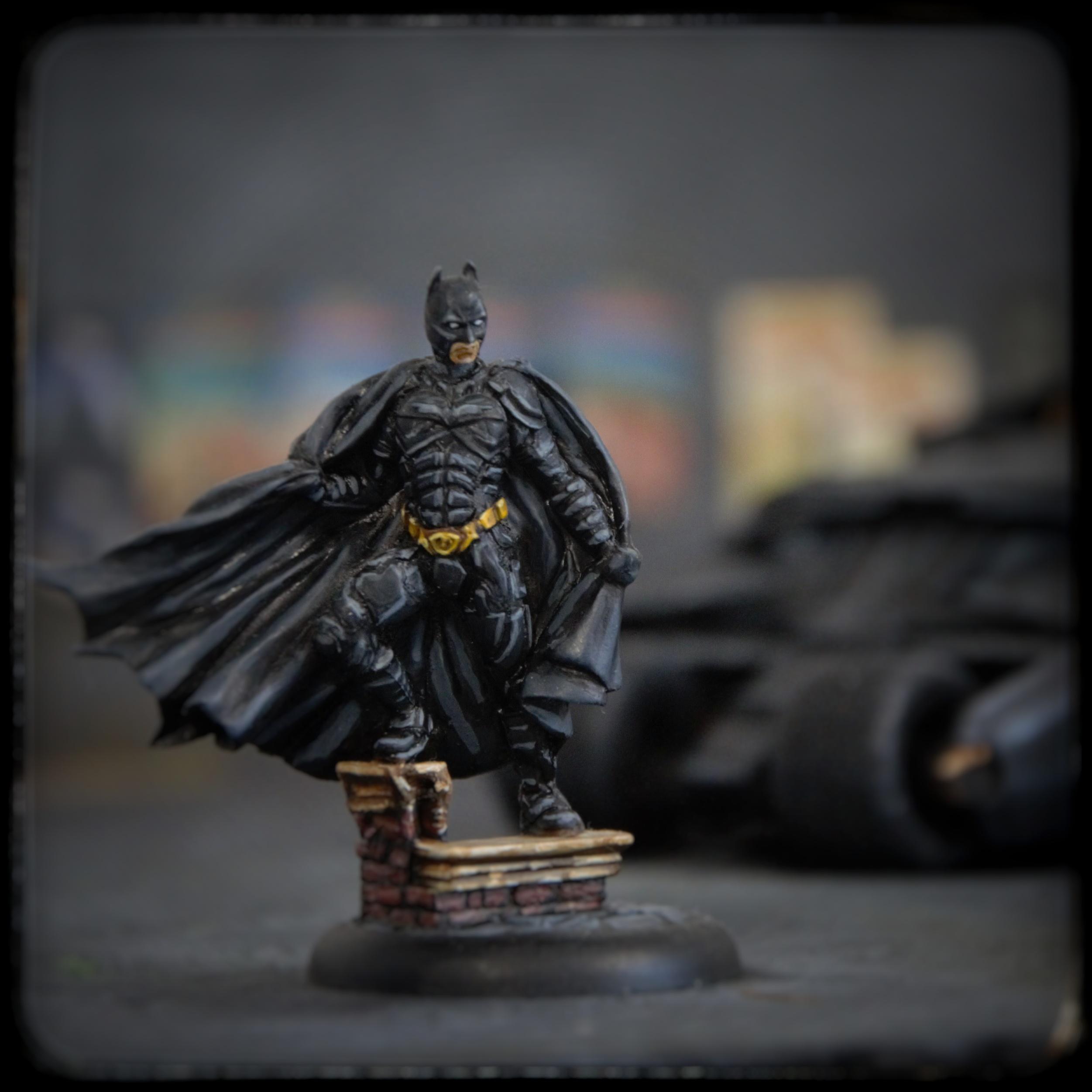 Batman Begins Knight Models
