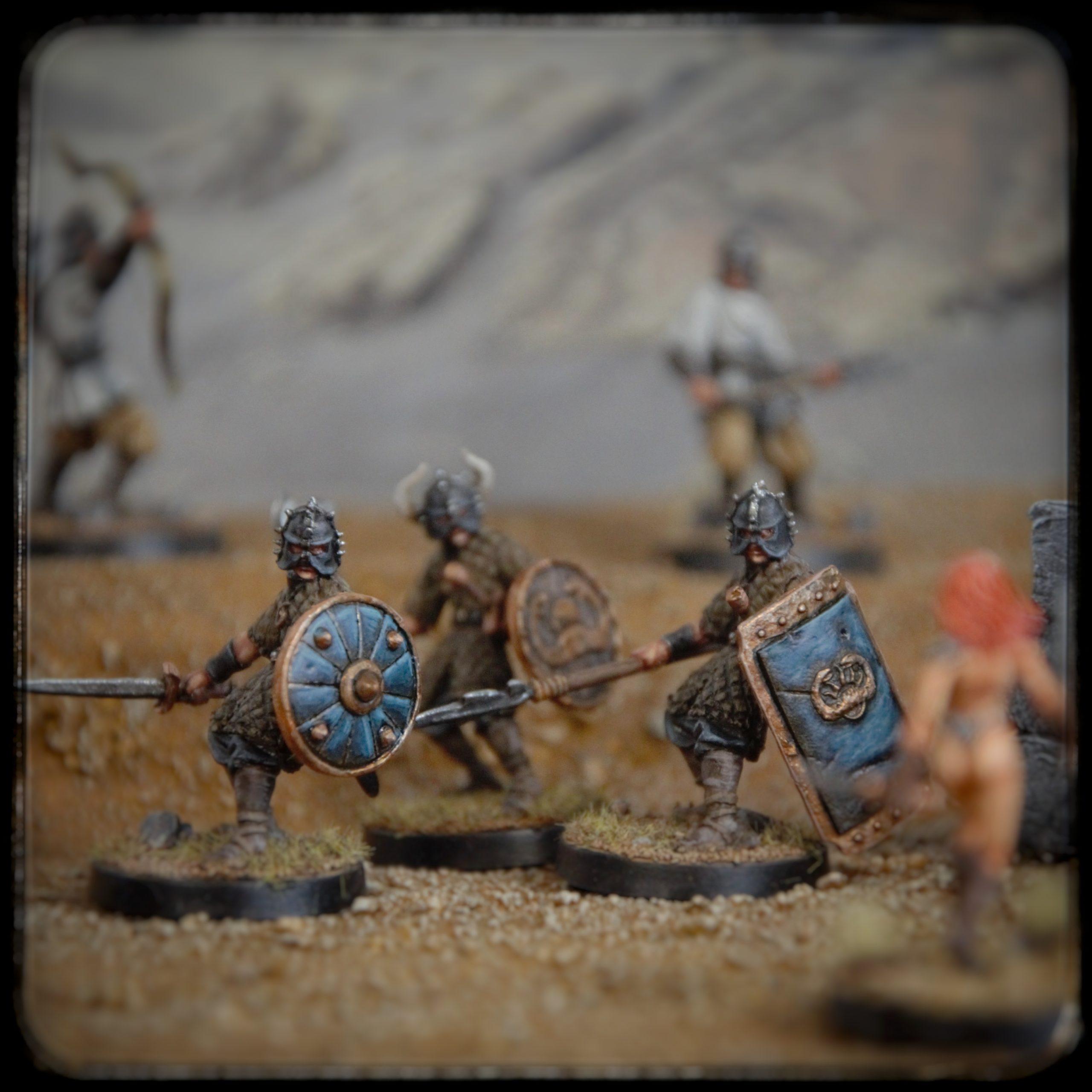 Serpent Warriors, Conan the Barbarian, Forge of Doom Miniatures