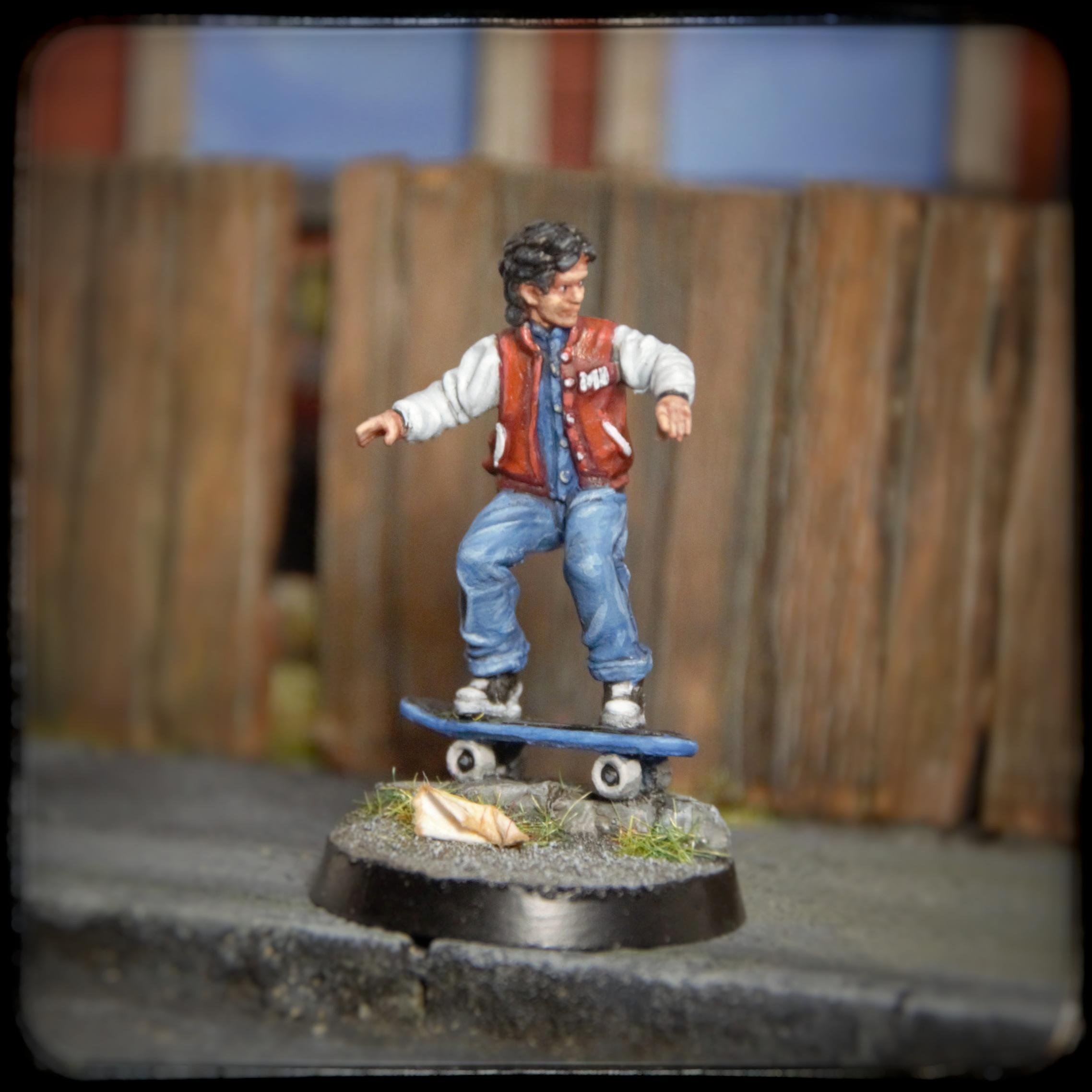 80's Kids on Wheels, Morgue Miniatures